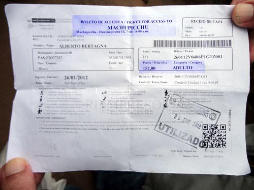 Este é o boleto que você imprime pela Internet.