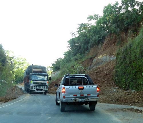 """Os """"derrumbes"""" são comuns na época das chuvas, tanto na Amazônia quanto no Altiplano"""