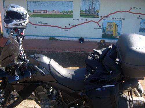 Este é o único posto entre Rio Grande e Santa Vitória do Palmar